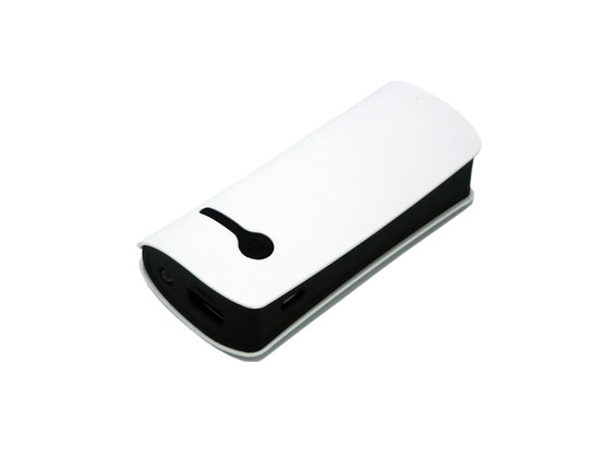 (Art. CLM7698) Power Bank White 5000 mAh
