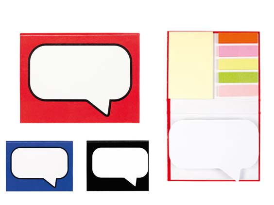 (Art. T472) Set de post-it
